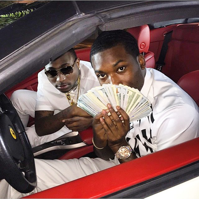 Photos + Video: Davido - Fans Mi (ft. Meek Mill) [B-T-S]