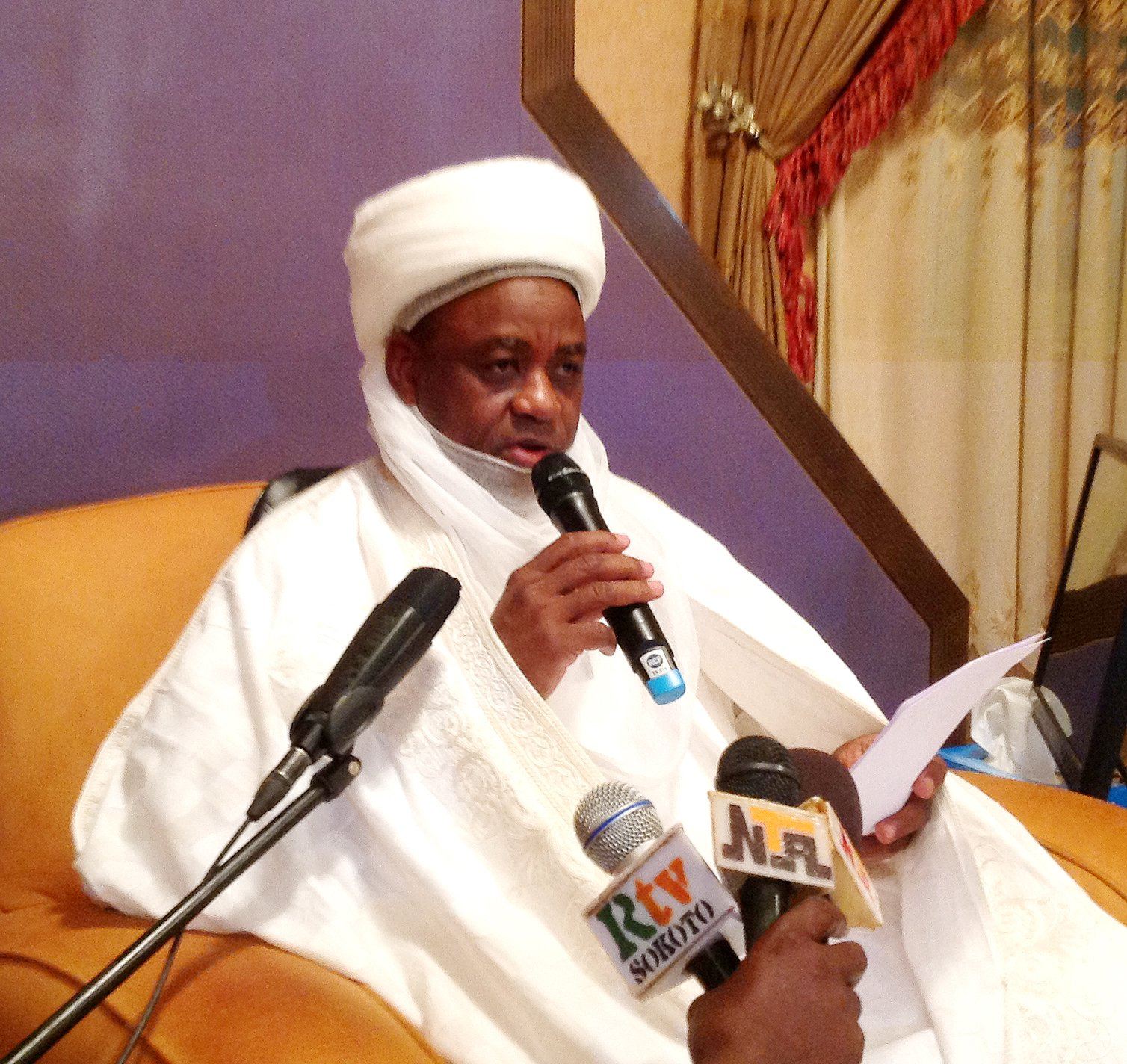 Fight those who try to stop you from practising Islam - Sultan of Sokoto charges Muslims