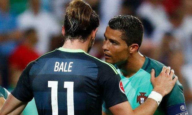 Bale Ronaldo July2016
