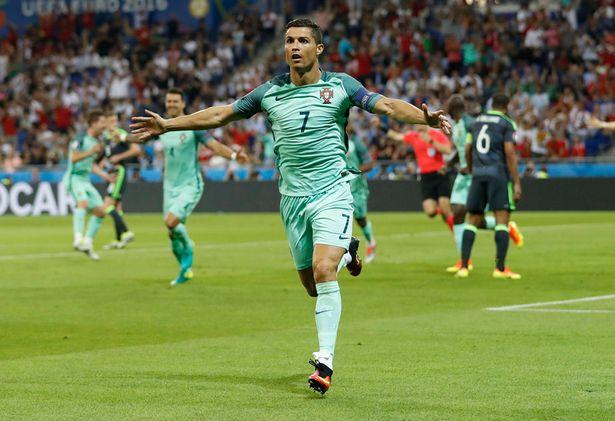 Ronaldo Wales Euro2016