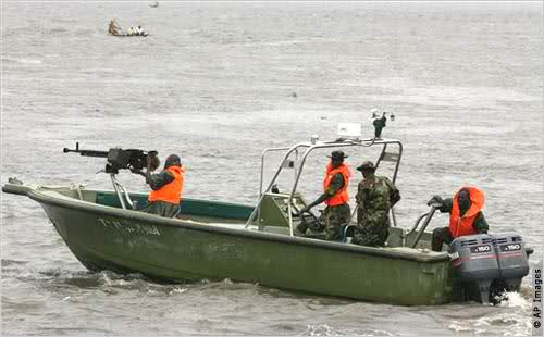 Navy blocks escape route of pipeline vandals in Lagos