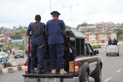 2 feared killed as Police, Civil Defence shoot workers near Nasarawa Government House [PHOTOS]
