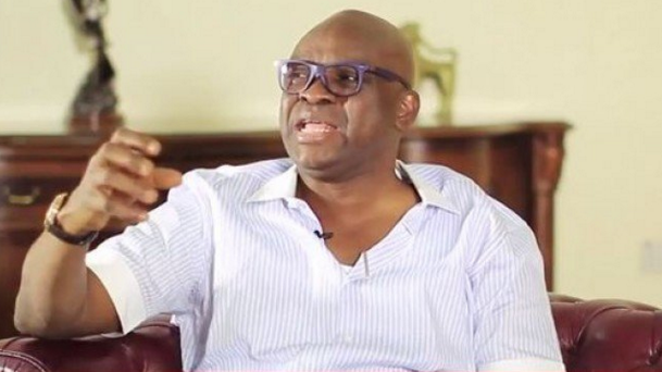 PDP crisis: I don't talk to monkeys - Fayose replies Sheriff