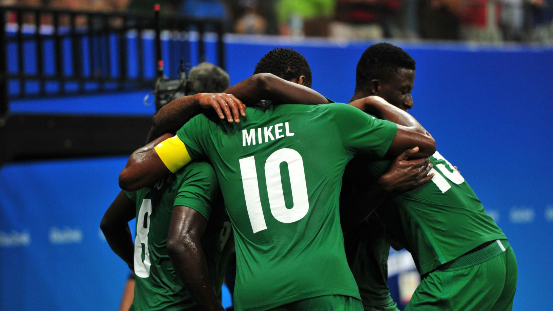 Nigeria Celebrate Goal Against Japan_2016 Olympics