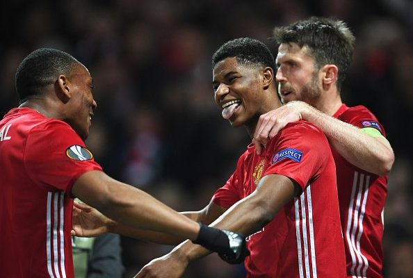 Rashford Martial Vs Anderlecht Apr2017