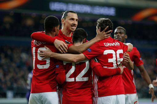 United Players Mob Mkhitaryan Vs Anderlecht Apr2017