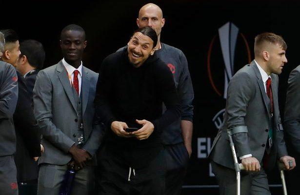 Europa League final: What Ibrahimovic told ball boys