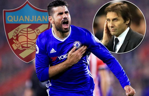 Tianjin Quanjian speaks on Diego Costa's reported move to club