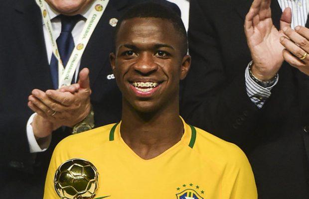 Real Madrid lands 16-year-old Vinicius Junior for £38million
