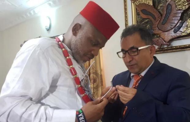 Biafra: Turkish Diplomat Visits Nnamdi Kanu [PHOTOS]