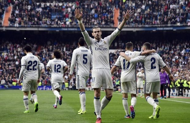 Real Madrid set new club record for goals in consecutive games