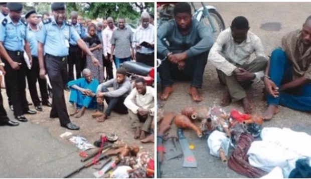 Our victim didn't have N100m, we removed his heart for rituals - Suspects confess