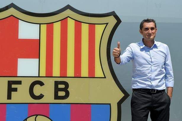 Valverde Barca Unveiling May2017