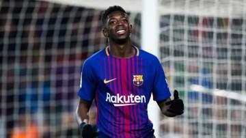 Barcelona issue fresh ban to Dembele