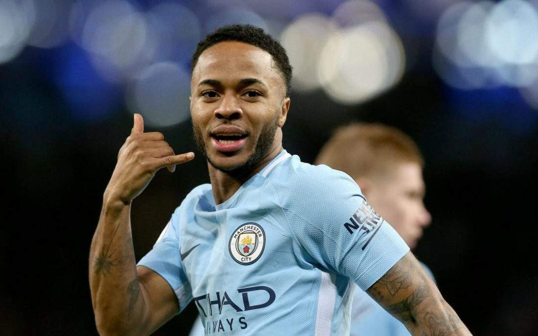 Manchester Citys Raheem Sterling Scores Fastest Goal In Premier League Has Great Celebration 1