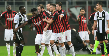 What Higuain said after red card in Juventus' 2-0 win over Milan