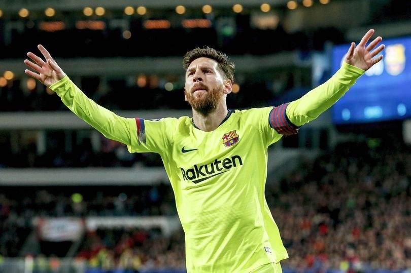 Messi PSV Vs Barcelona