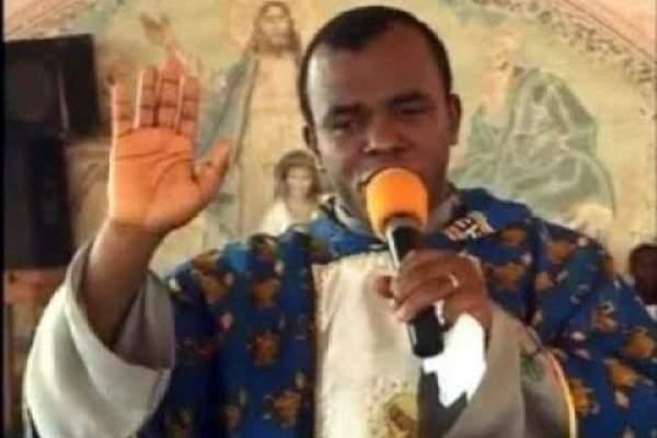 Atiku vs Buhari: Fr. Mbaka finally reveals presidential candidate he will support