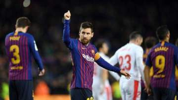 What Dembele said about Messi after 1-0 win over Valladolid