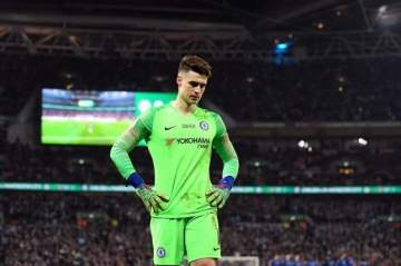 Chelsea finally roll out the punishment for goalkeeper Kepa Arrizabalaga
