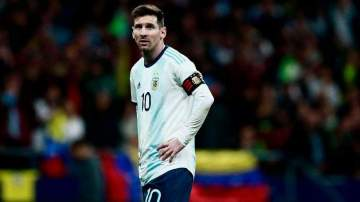 Messi leaves Argentina team after 3-1 defeat to Venezuela