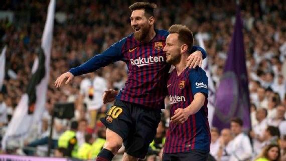 Messi Rakitic Vs Madrid Mar2019