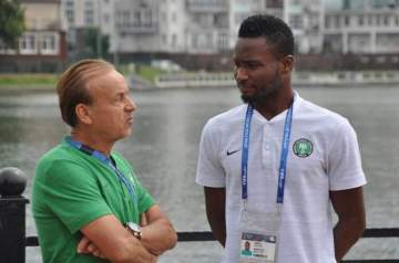 Mikel Obi: Okocha sends strong message to Super Eagles coach, Gernot Rohr