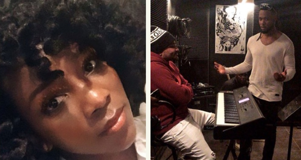 Actress Genevieve Nnaji Back In The Studio For Collaboration With Flavour And Masterkraft