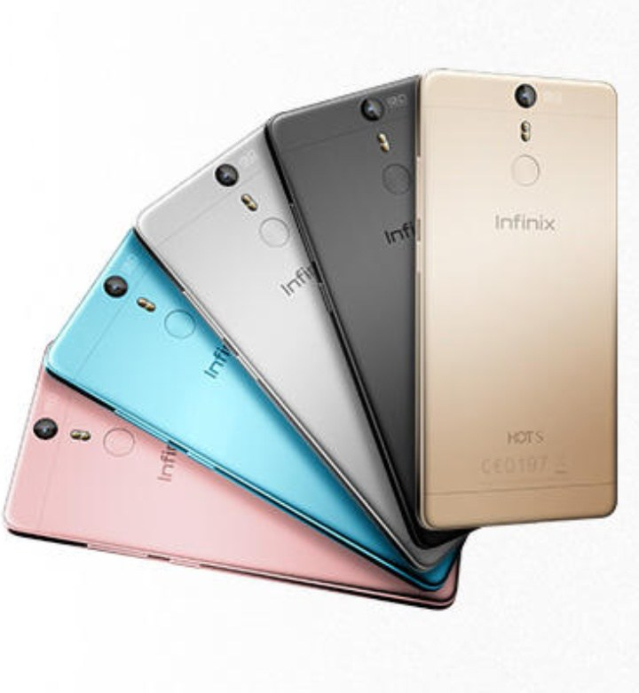 The beautiful Infinix Hot S is the latest from Infinix mobility