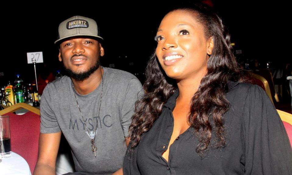 2face And Wife Annie Idibia