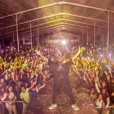 OBO Worldwide! Watch Davido Shutdown A Show In South America