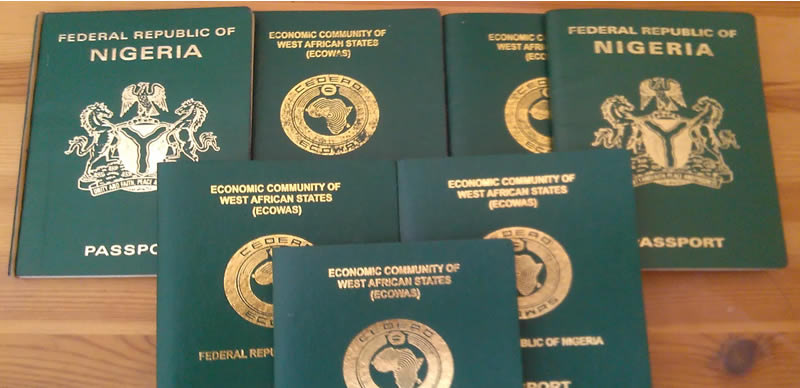 Nigerian International Passports