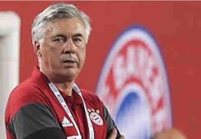 Bayern Munich Coach Carlo Ancelotti