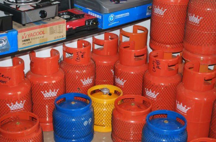 Gas Cylinders Lub Gas