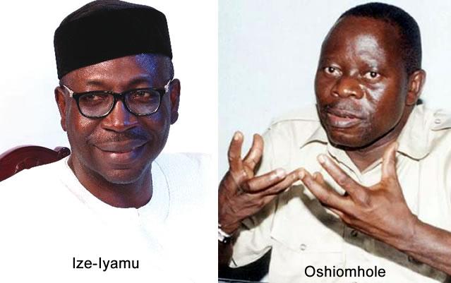 Ize Iyamu Oshiomhole
