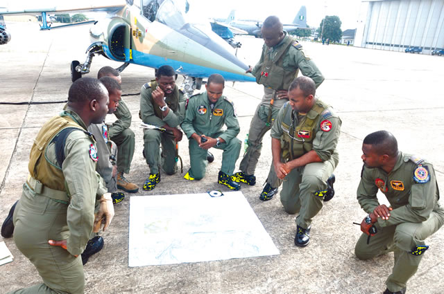 Soldiers take over Arepo, trace militants to Badagry