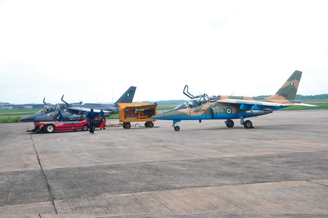 NAF jets hit vandals locations at Arepo
