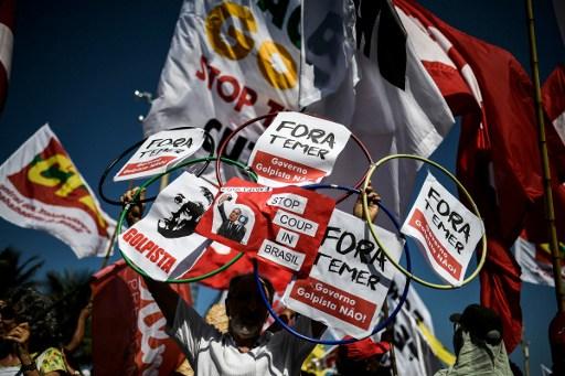 Rio Brazil Protest