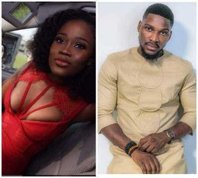 #BBNaija Housemates Tobi And Cee C Finally Settle Their Differences With A Hug