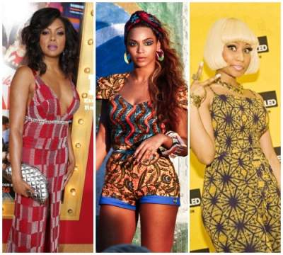 11 American Celebrities That Look Great Wearing Ankara