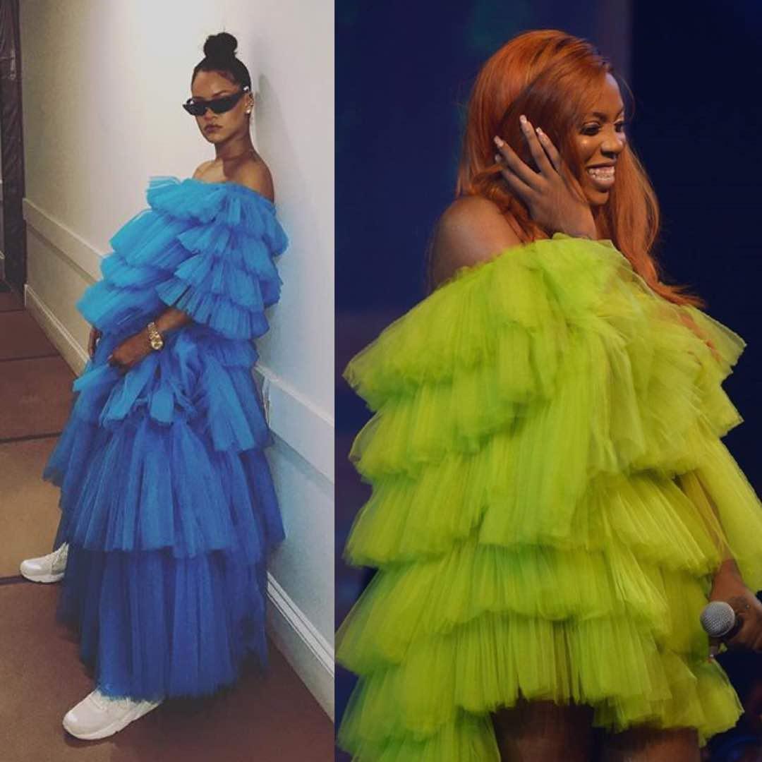Tiwa Savage Rihanna Bellanaija Style
