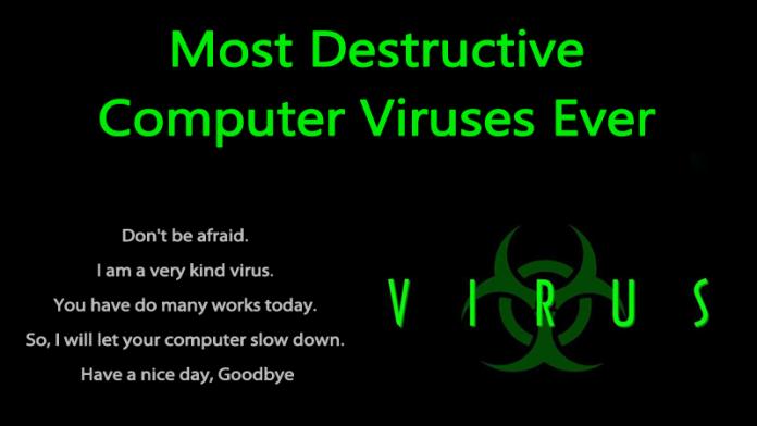 Top 10 Most-Destructive Computer Viruses Ever