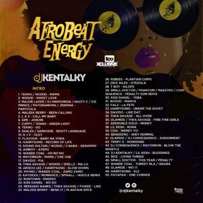 Afro Energy Back