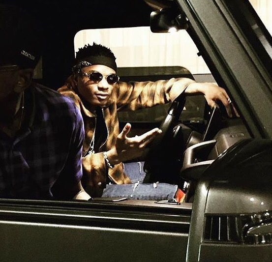 Wizkid Shares Photo Aboard Private Jet As He Flies In Style (Photos)
