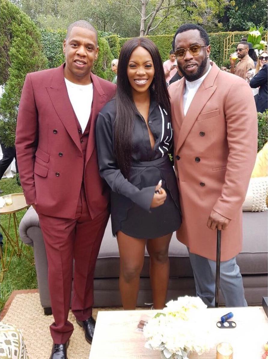 Tiwa Savage Jay Z Sean Diddy Combs