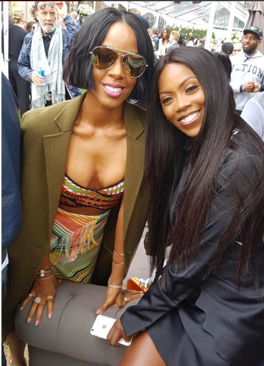 Tiwa Savage Kelly Rowland