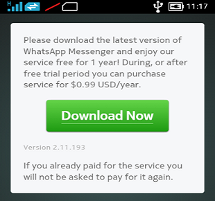 Download Whatsapp Nokia X