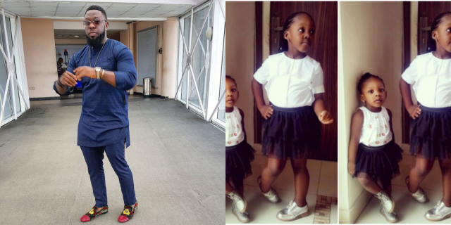 Timaya%E2%80%99s Daughters Looking Adorable As They Rock Matching Outfits In New Photo