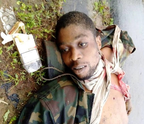 See Graphic Photos of Niger Delta Militants Killed by the Army in Cross River State