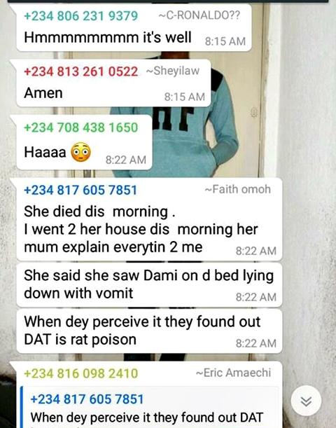Damilola Commits Suicide 2